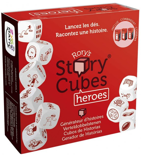 STORY CUBES HEROIS